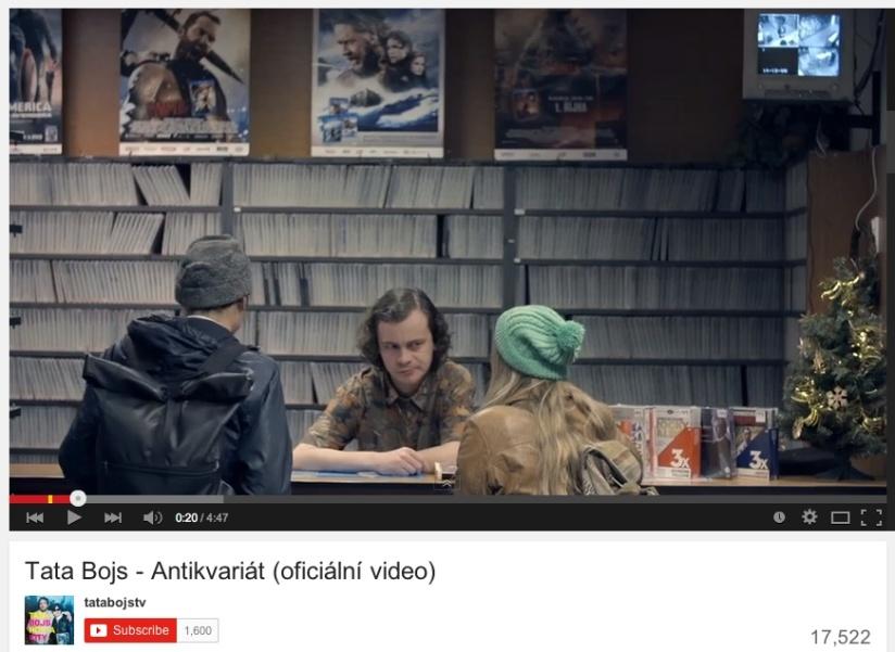 TataBojysAntikvariát_YouTube